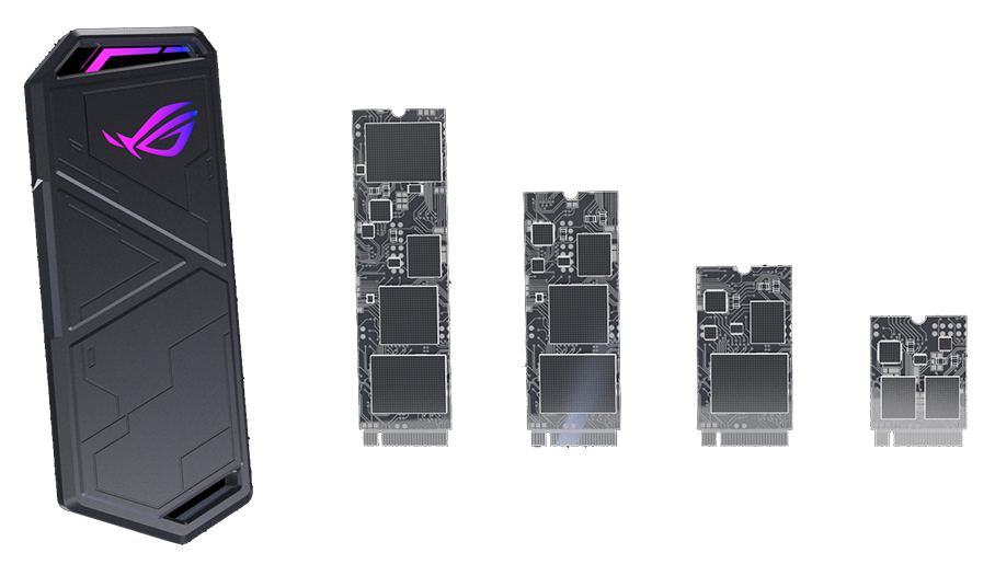 Image result for ROG Strix Arion Support M.2 PCIe NVM Express® SSD png