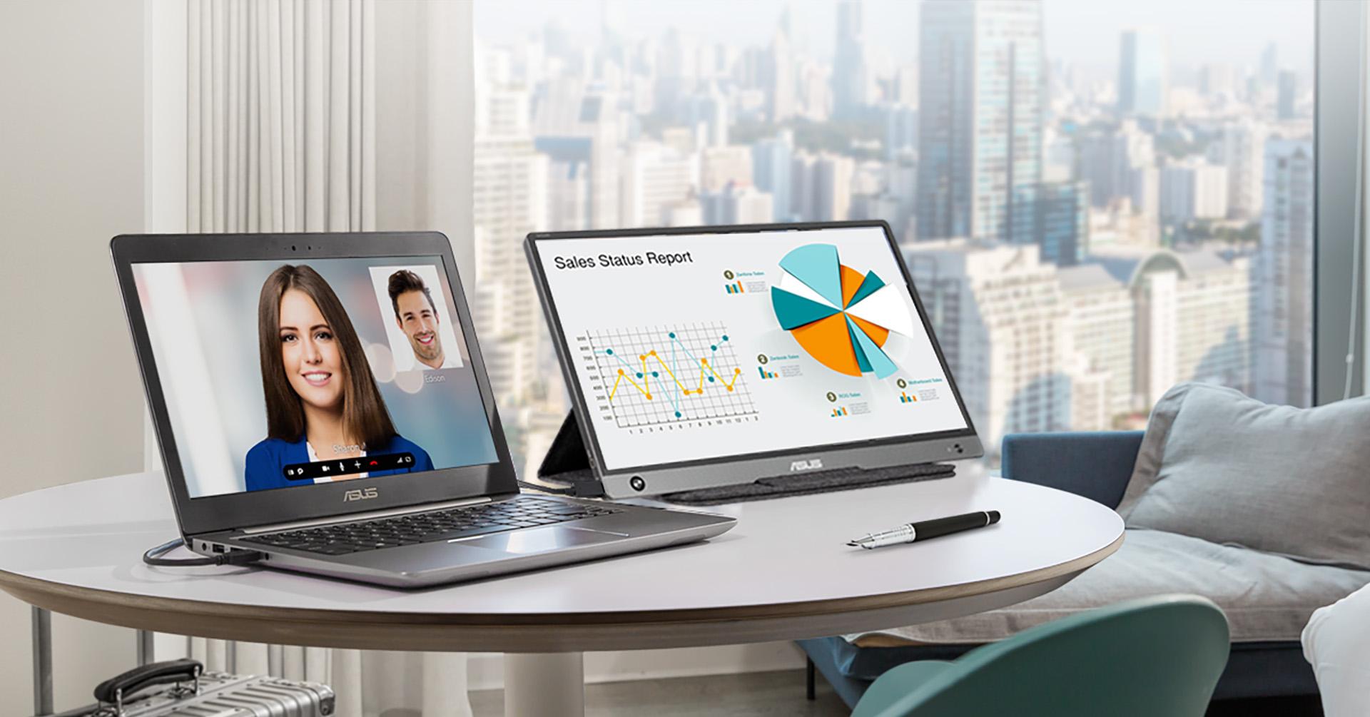 ZenScreen MB16AC 15.6 inch Portable Monitor
