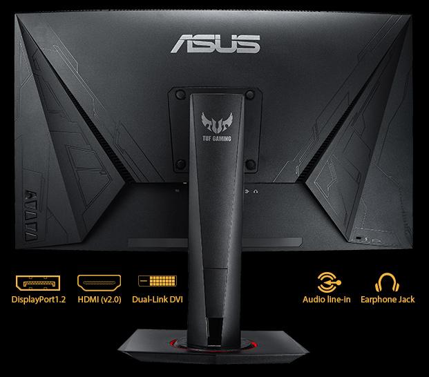 Tuf Gaming Vg27vq Monitors Asus Global