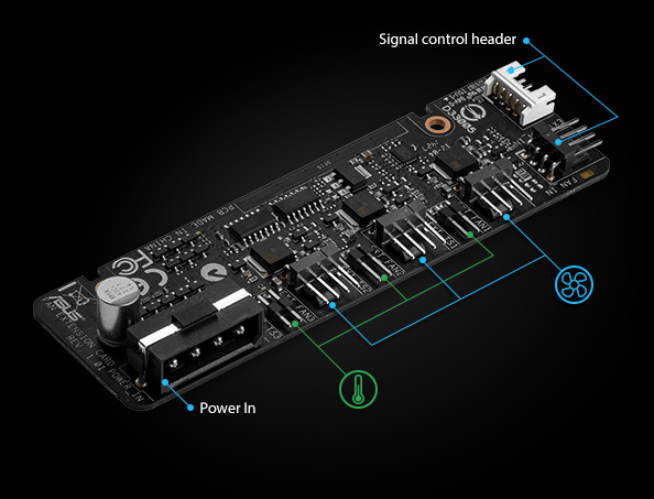 FAN EXTENSION CARD | Motherboard Accessories | ASUS USA