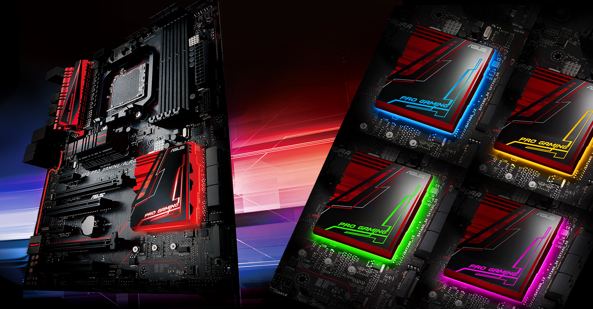 970 PRO GAMING/AURA | Motherboards | ASUS Global