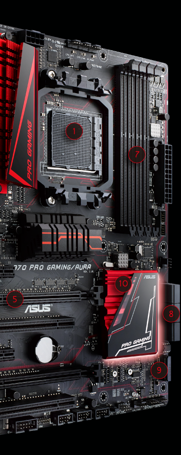 Asus 970 PRO GAMING/AURA Motherboard Driver Download (2019)