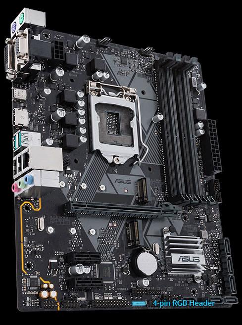PRIME B360M-D   Motherboards   ASUS Global