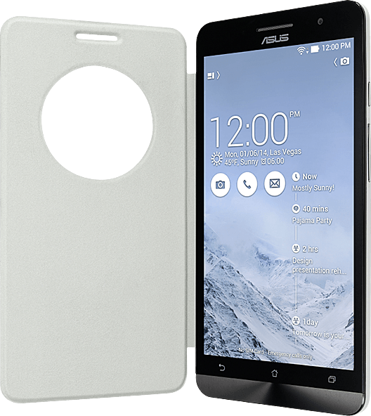 View Flip Cover White