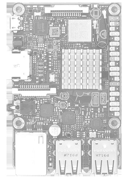ASUS Tinker Board S Quad-Core 1.8GHz SoC 2GB RAM 16GB eMMC storage GB LAN Wi-...