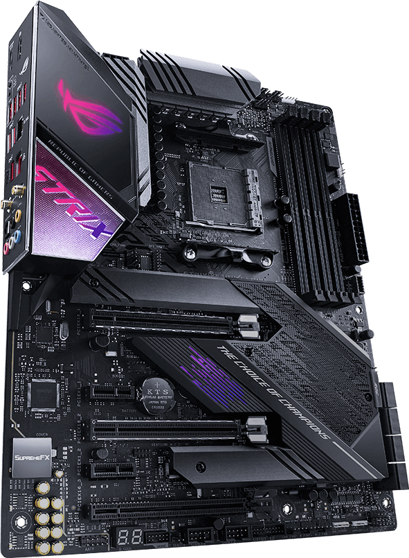 Rog Strix X570 E Gaming Motherboards Asus Usa