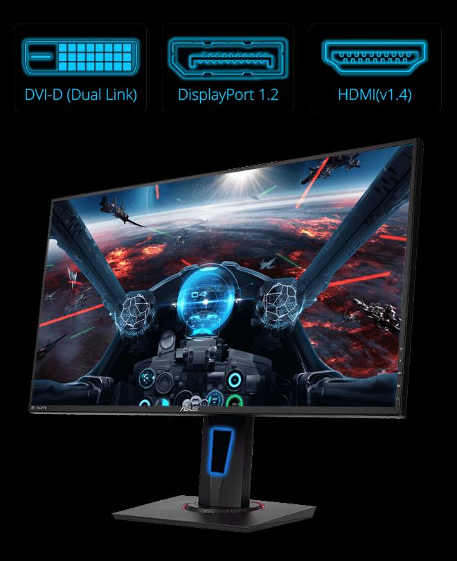 VG278Q | Monitors | ASUS