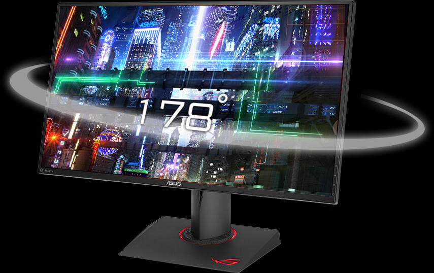 "ASUS ROG Swift PG279Q Gaming Monitor - 27"" 2K WQHD (2560 x 1440) IPS"