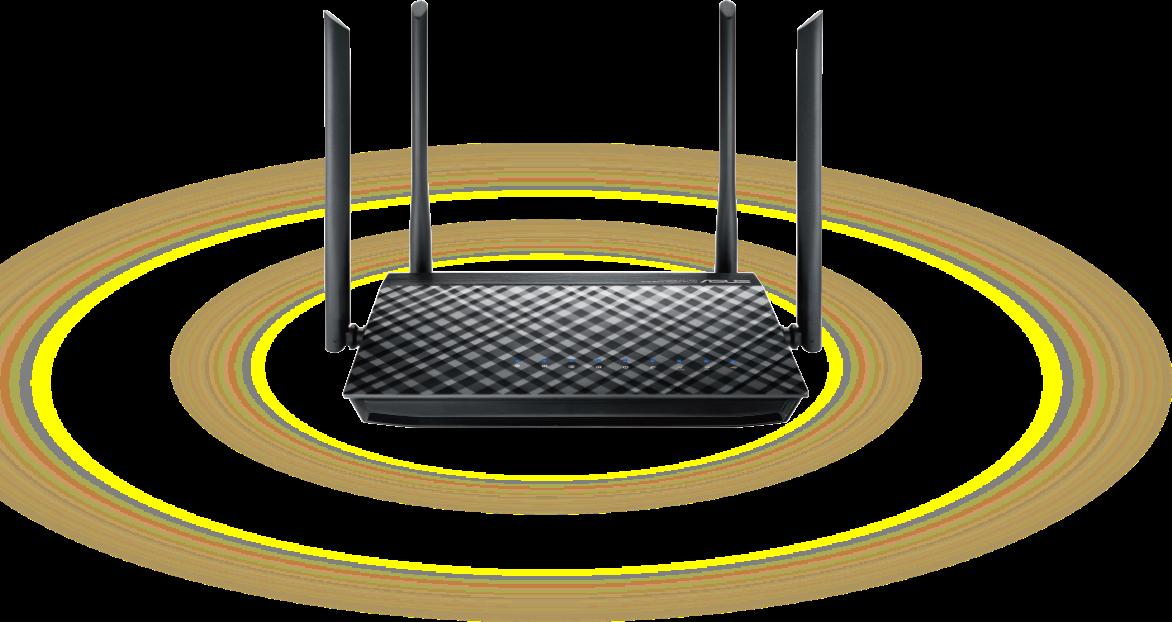 Atualiza com cobertura Wi-Fi ininterrupta