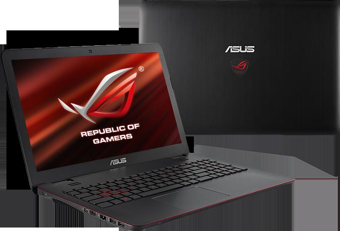 Notebook Asus G551JK-Especificações