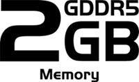 Gigantic 2GB GDDR5 Memory
