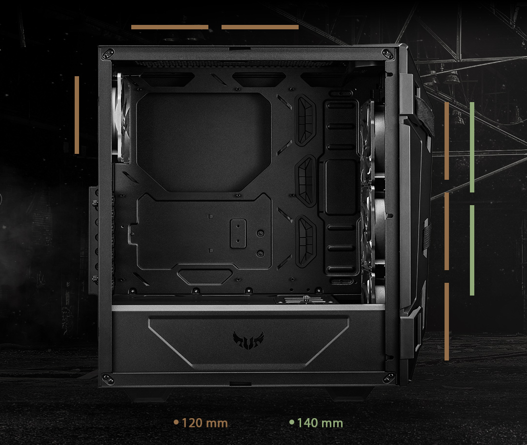 TUF Gaming GT301 Case | Gaming Case | ASUS Philippines