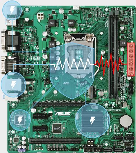 ASUS PRIME Q270M-C BIOS firmware chip