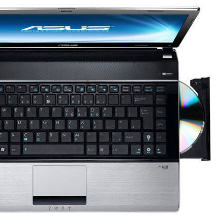 ASUS thin & light notebook U41JF with uncompromising performance