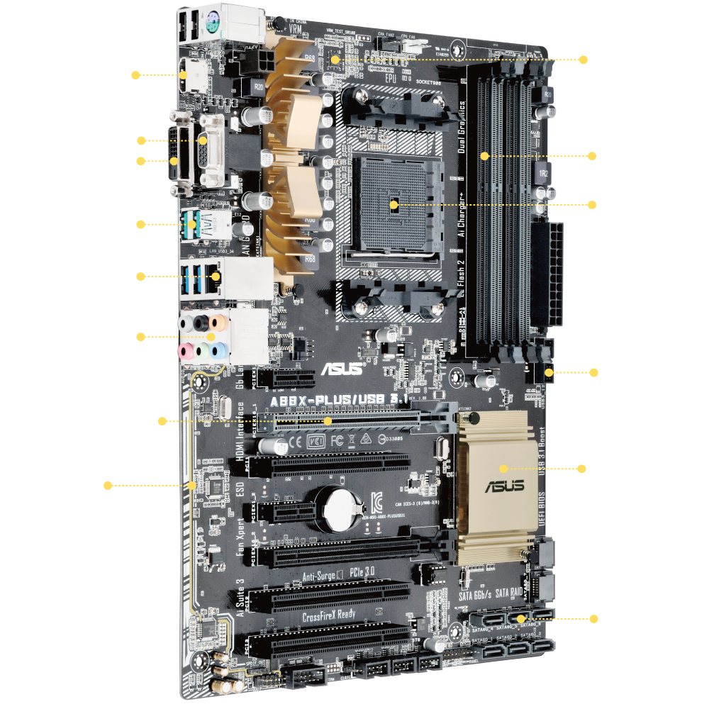 A88x Plus Usb 3 1 Motherboards Asus Global