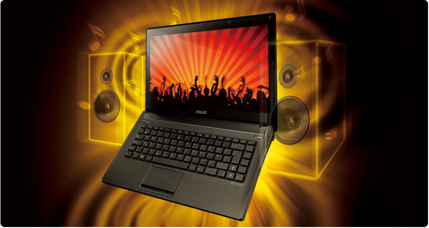 ASUS N82Jg Splendid Super-Sonic Multimedia Enjoyment
